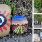 Steine bemalen oder wie die Welt ein bisschen bunter wird