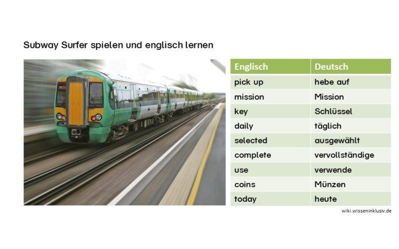 zu tun haben mit englisch