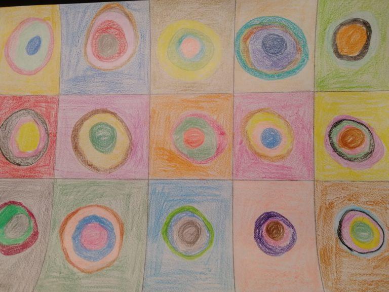 Maler Kandinsky – Kreise