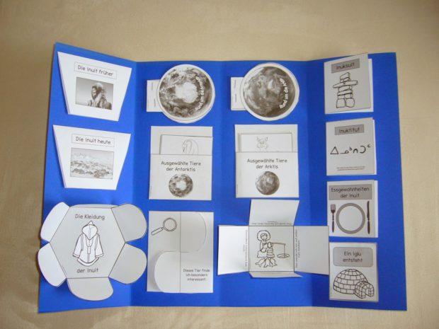 Lapbook Arktis Antarktis Ideenreise