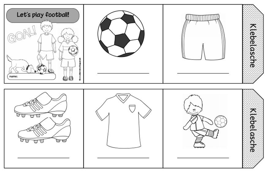Faltleporello und Minibilder football
