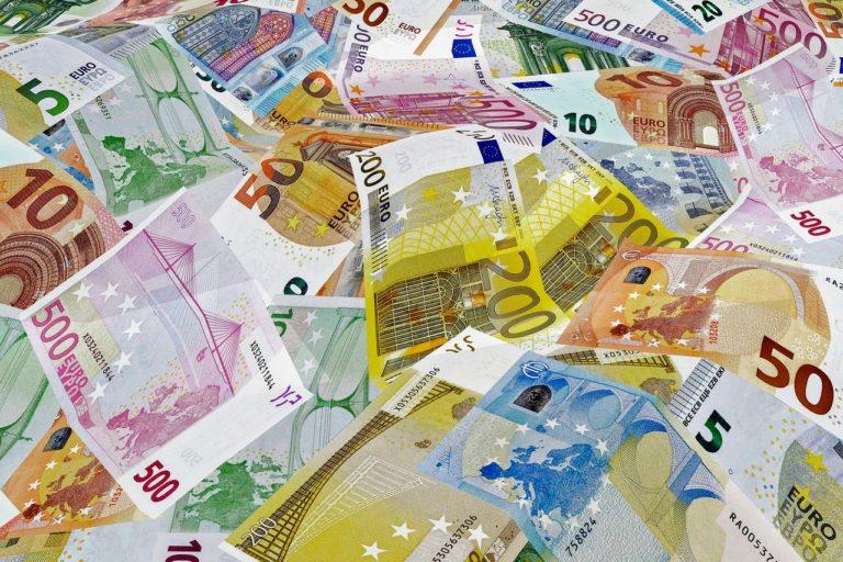 Eurogeldscheine und Münzen zum Ausdrucken