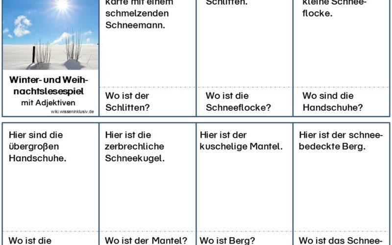 Materialien Grundschule, wiki.wisseninklusiv.de • Kostenlose ...