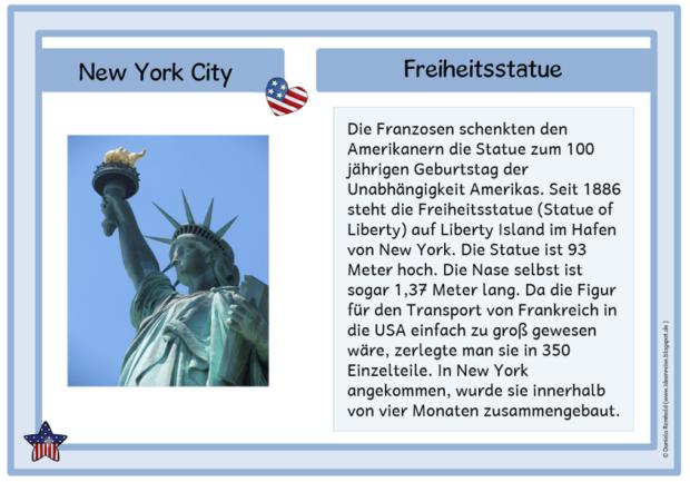 Wissenskartei New York Ideenreise