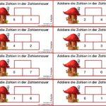 Zahlenmauer im Zahlenraum 10 - Addieren mit zwei Grundsteinen